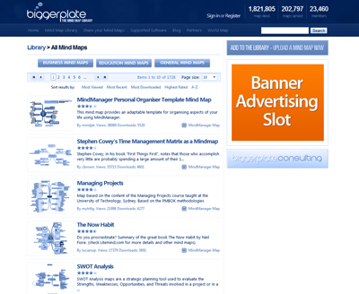 Advertise on the Biggerplate website