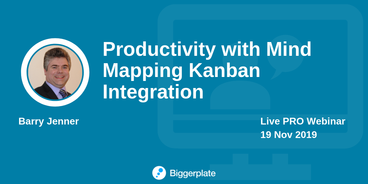 Productivity with Mind Mapping Kanban Integration