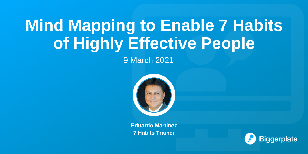 Mind Mapping to Enable 7 Habits of Highly Effective People