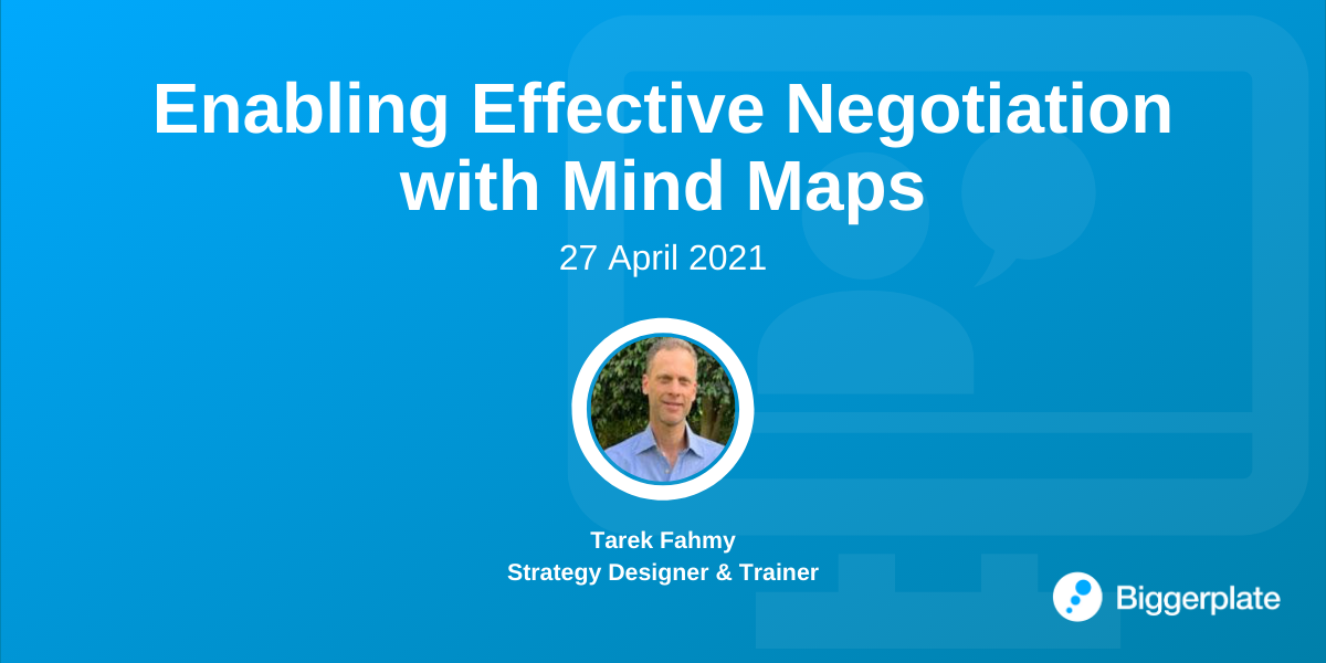 Enabling Effective Negotiation with Mind Maps