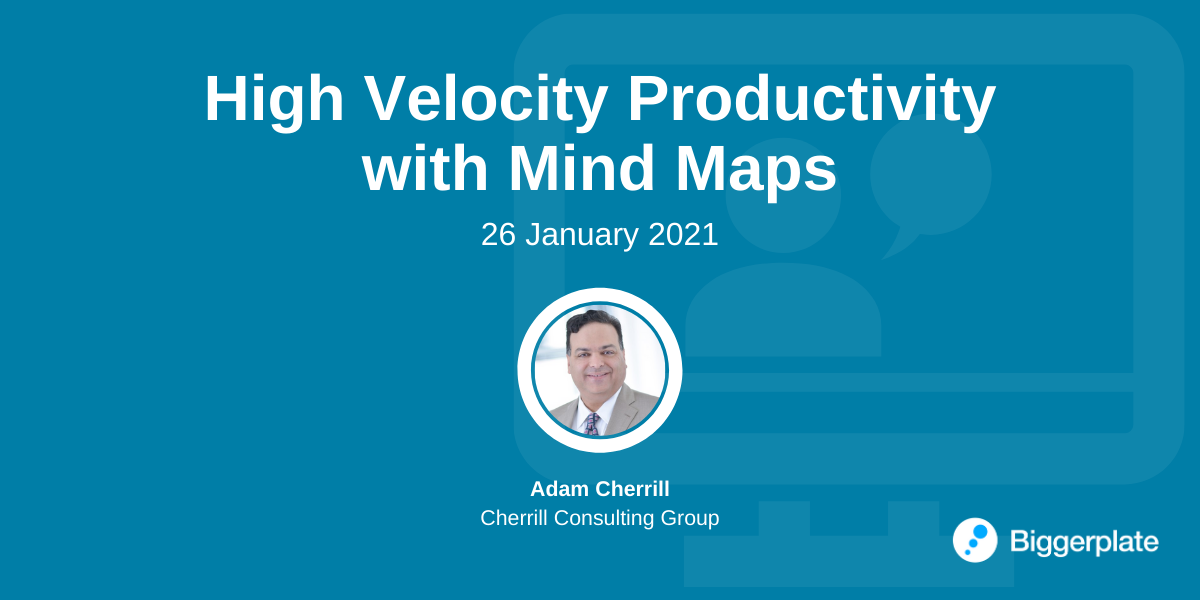 High Velocity Productivity with Mind Maps