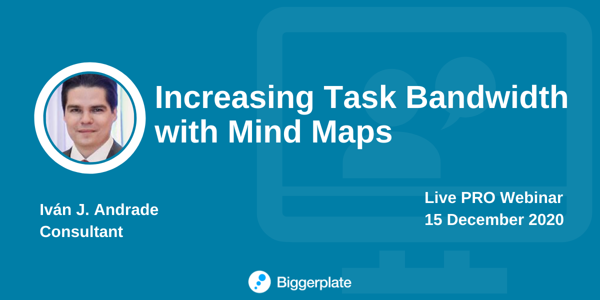 Increasing Task Bandwidth with Mind Maps