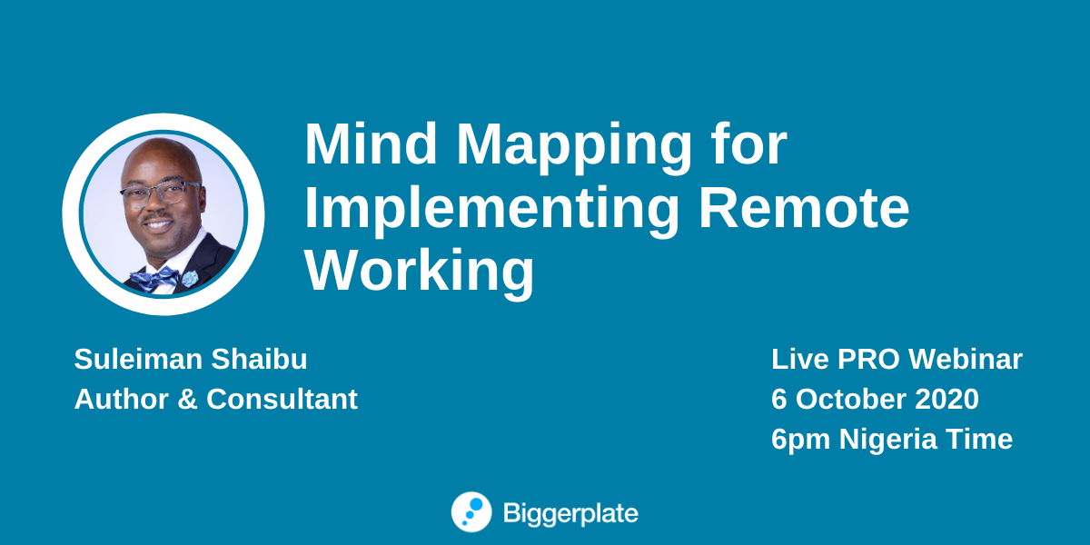 Mind Mapping for Implementing Remote Working