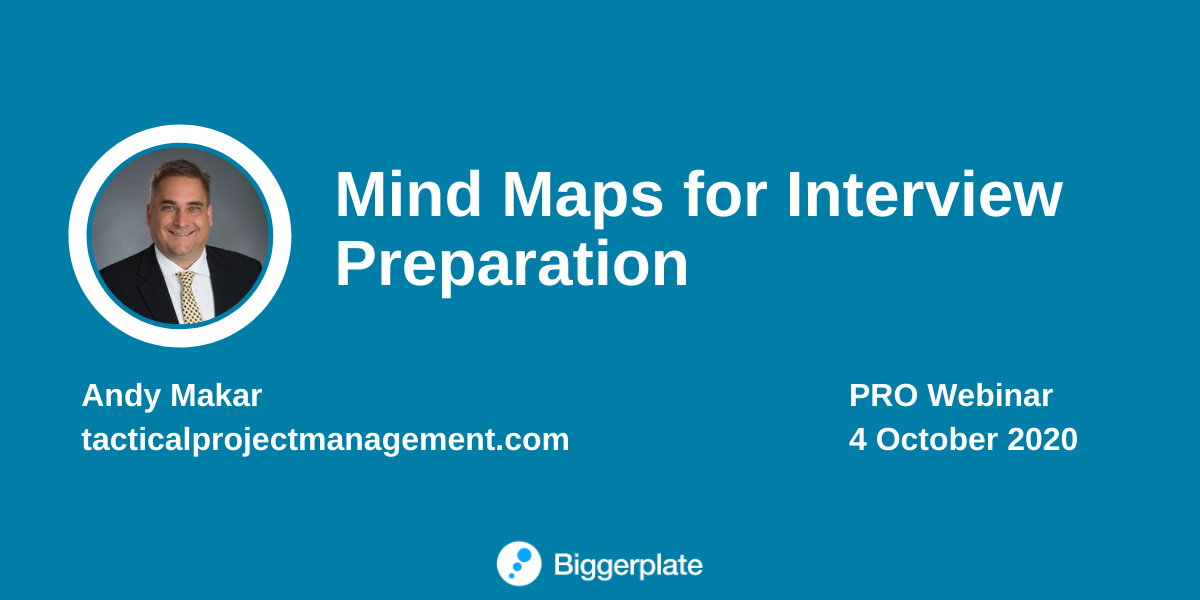 Mind Maps for Job Interview Preparation