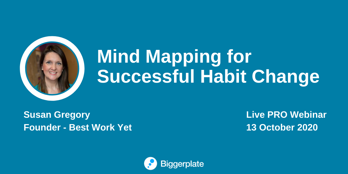 Mind Mapping for Successful Habit Change