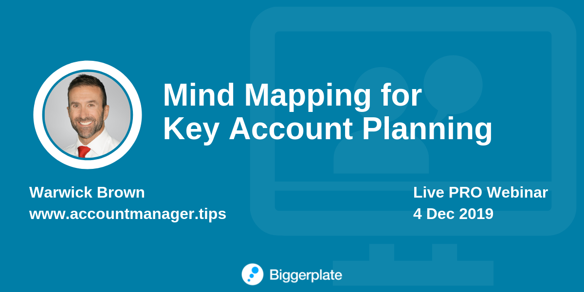 Mind Mapping for Key Account Planning