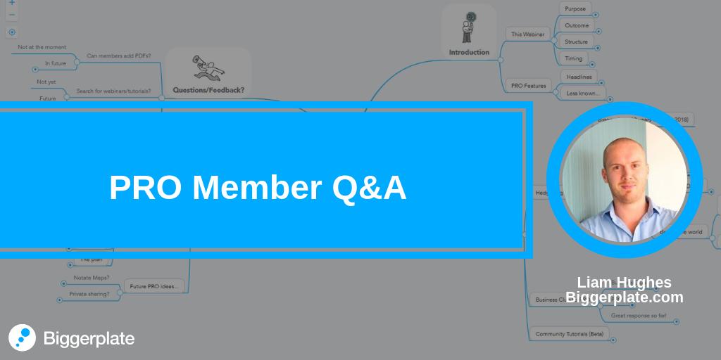 PRO Member Q&A