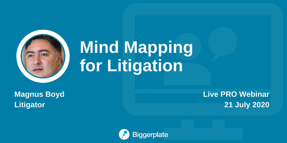 Mind Mapping for Litigation