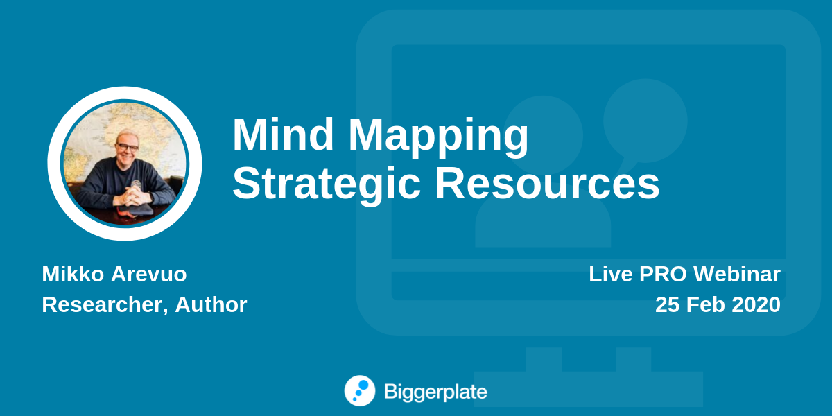 Mind Mapping Strategic Resources
