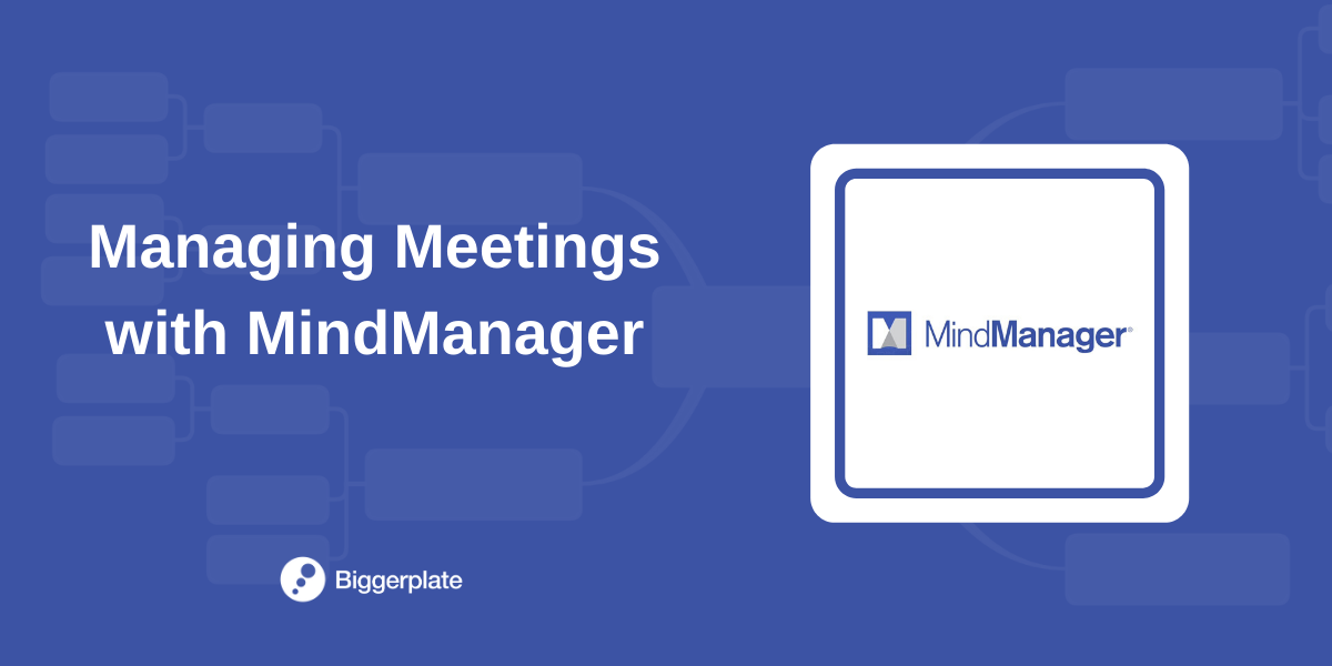 Managing Meetings with MindManager