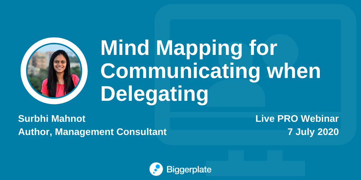 Mind Mapping for Communicating when Delegating