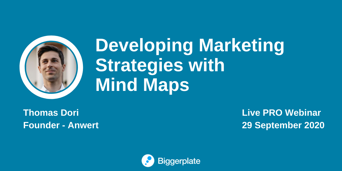 Developing Marketing Strategies with Mind Maps