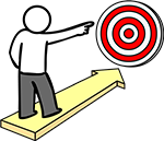 Pointing to target