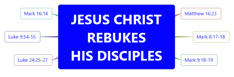 Bible Study-JESUS CHRIST REBUKES HIS DISCIPLES