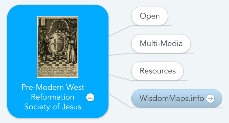 Pre-Modern West Reformation Society of Jesus