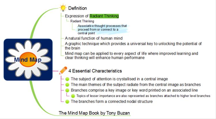 Mind Map Definition: MindMapper mind map template   Biggerplate Definition Of Map Key on