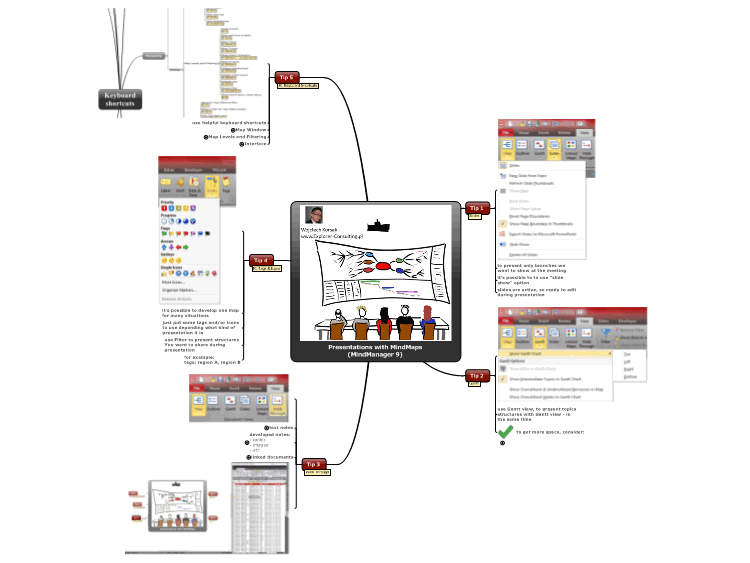 Effective Presentations with MindMaps (MindManager 9)