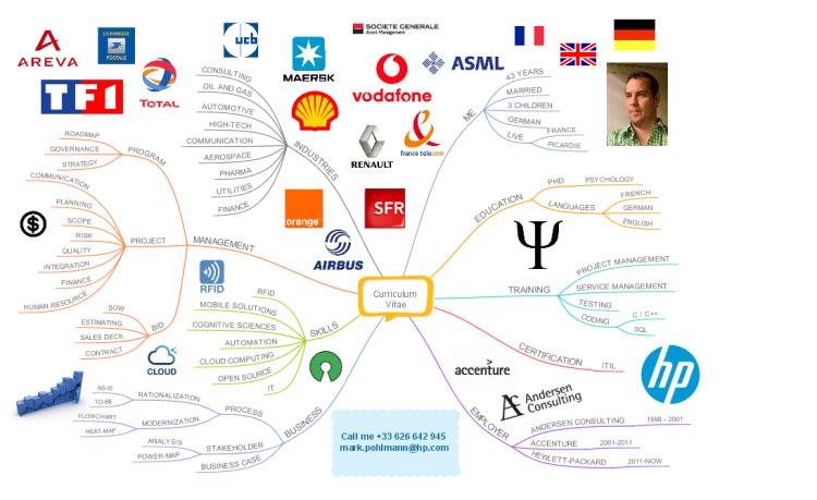 mark pohlmann curriculum vitae 201410 mind map