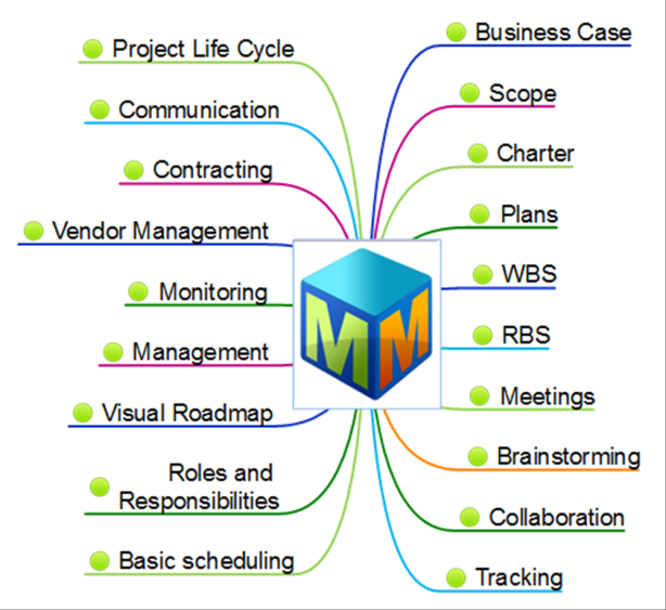 Project Management with MindMapper
