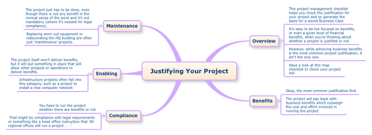 Justifying Your Project