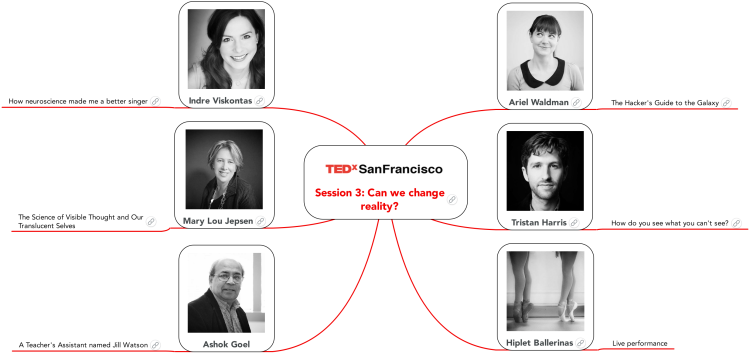 TEDx SanFrancisco Session 3
