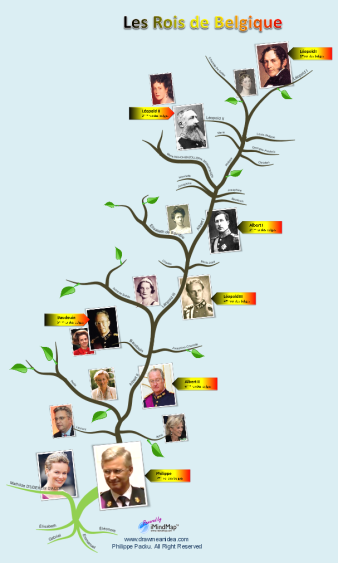 Philippe Packu - New king Philippe - Belgian monarchy tree ...