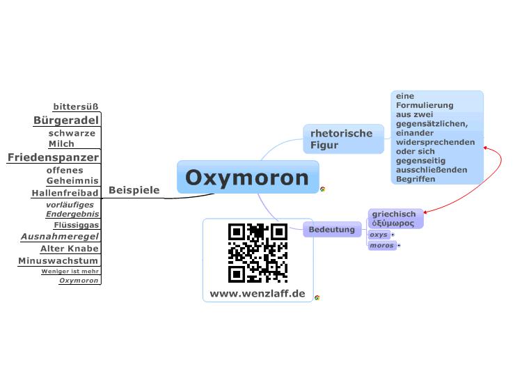 Oxymoron beispiele lustig